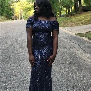 Betsy Adam prom dress